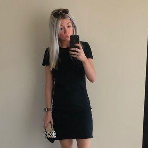 Versatile black tna cotton dress